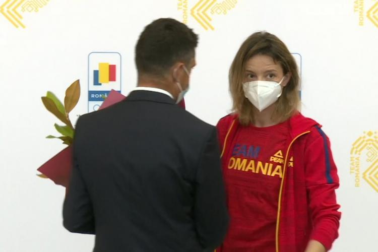 Scrimera Ana Maria Popescu ironică spre ministrul Novak, după argintul olimpic: Poate luați dvs aurul la Tokyo