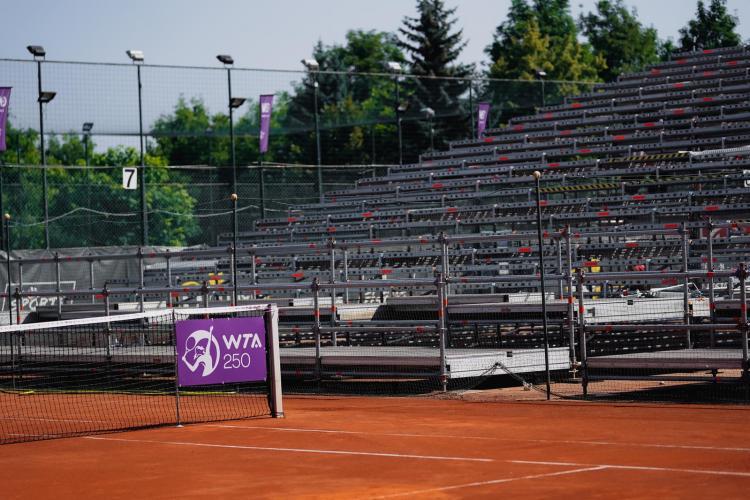 Turneul de tenis de la Cluj - Winners Open WTA 250, desfășurare incredibilă de forțe -  Galerie FOTO