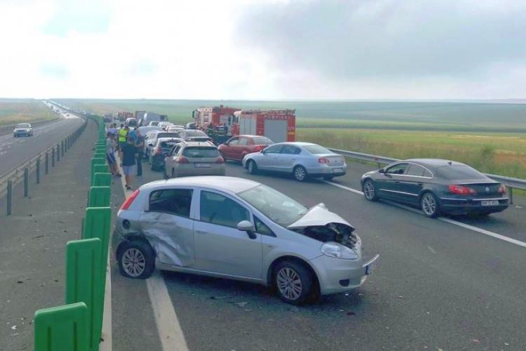 Accidente în lanț pe Autostrada Soarelui: Peste 50 de mașini implicate, 22 victime, planul roșu activat