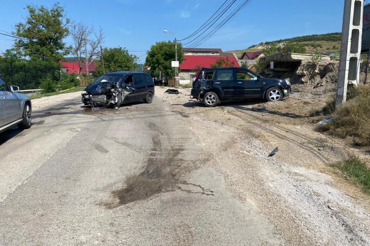 Accident pe strada Valea Seacă, din Cluj-Napoca