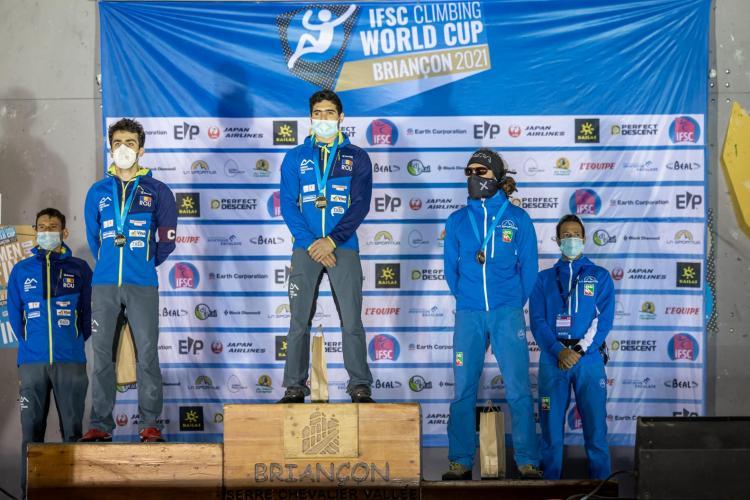 Aur și argint pentru România la Cupa Mondială de Paraclimbing din Franța