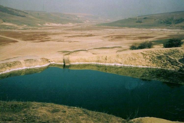 TURDA - Lacul Durgău, înainte de a fi amenajat sub forma ștrandului Durgău. Cum e mai frumos și mai bine? - FOTO