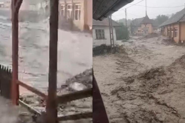 """Primarul din Ocoliș, comuna distrusă de viitură: """"Toate drumurile sunt blocate, suntem izolați"""""""