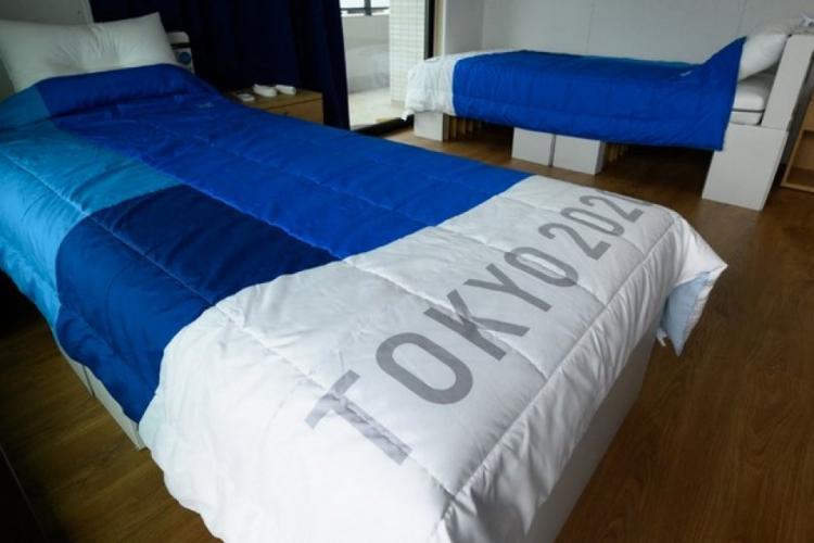 Paturi de carton la Jocurile Olimpice de la Tokyo, pentru ca sportivii să nu aibă relații intime