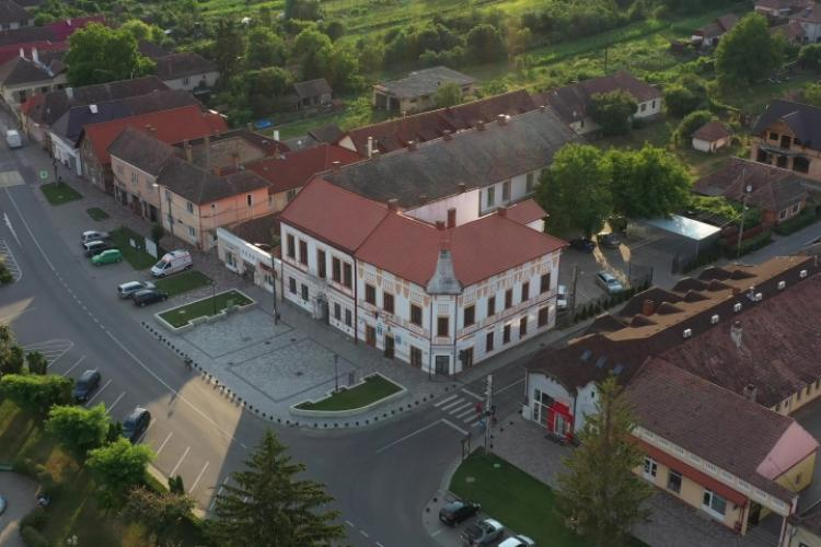 Leul cu ochii scoși, simbolul amuzant de pe noua stema unui oraș din Transilvania aprobată de Guvern - FOTO