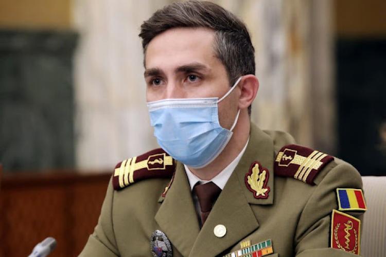 Valeriu Gheorghiță: Clujul e recordman la vaccinare. Valul patru va veni și în România. Vaccinarea salvează vieți