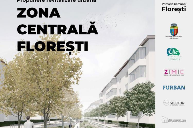 Floreștiul modernizează centrul vechi! Dezbatere publică în Parcul Poligon pentru revitalizarea zonei