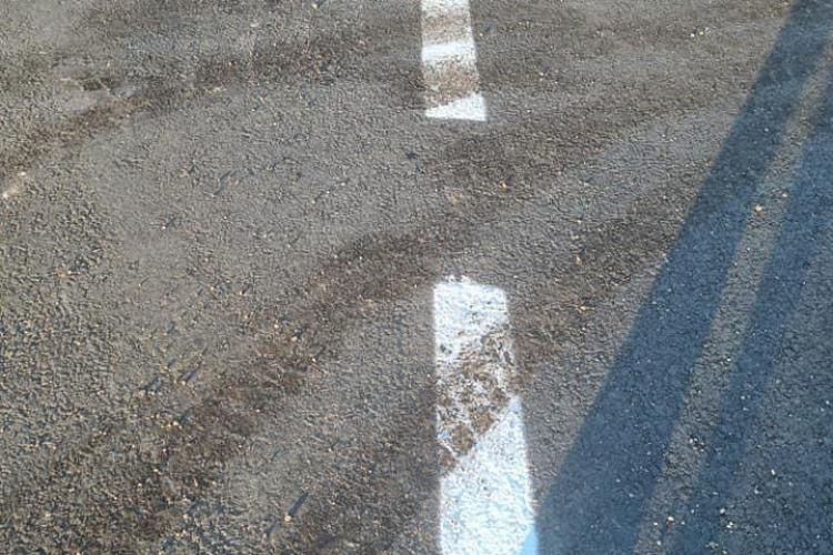 În Chinteni se poate? Primărița Lucia Suciu l-a urmărit până în pânzele albe pe șoferul care a distrus marcajul public