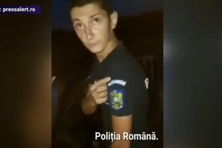 """Un fals polițist a fost prins, după ce a fost filmat de un grup de tineri: """"Vezi că o să fii săltat din casă"""""""