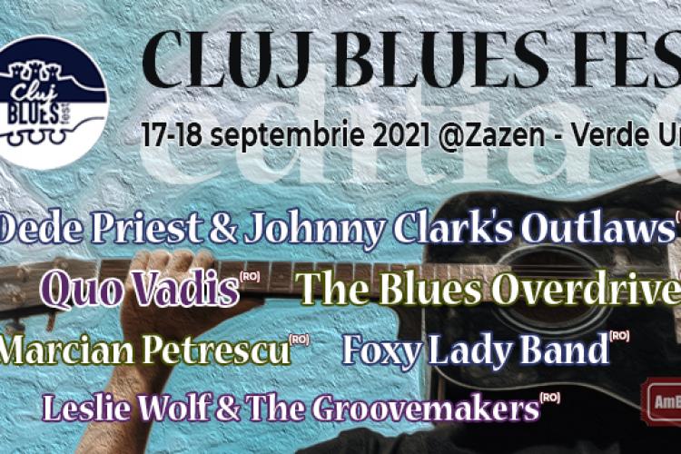 #cometobluj - Când are loc Cluj Blues Fest 2021 și ce artiști tari vin
