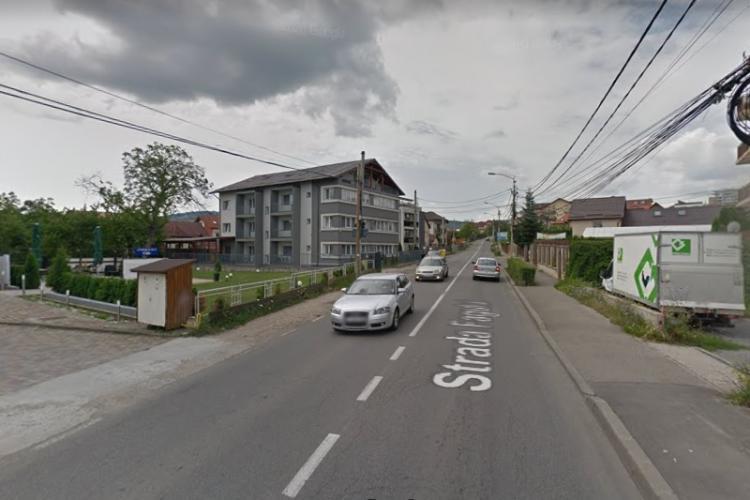 Strada Fagului, în continuare străzii Bună Ziua, va fi lărgită