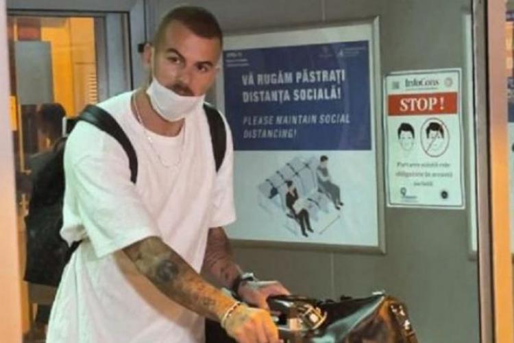 Denis Alibec a ajuns aseară la Cluj! Atacantul va evolua sub comanda lui Șumudică din nou