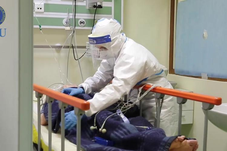 10 cazuri noi de COVID la Cluj, în ultimele 24 de ore. 5 pacienți sunt internați la ATI