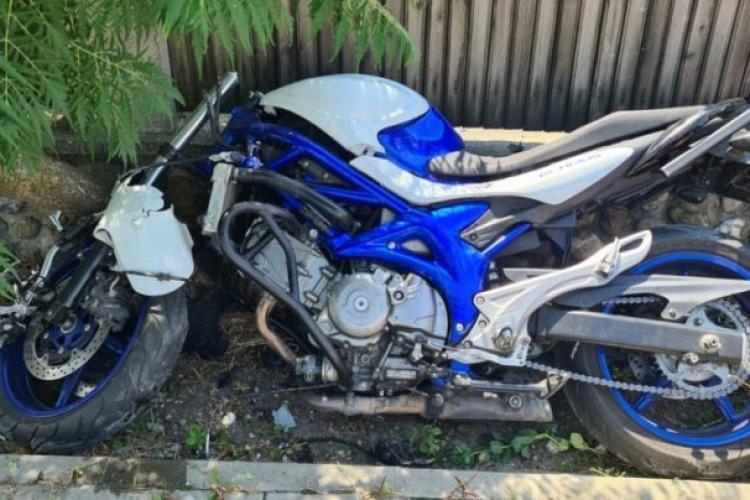 Motociclist din Cluj, mort la Vâlcea, într-un grav accident de circulație - FOTO