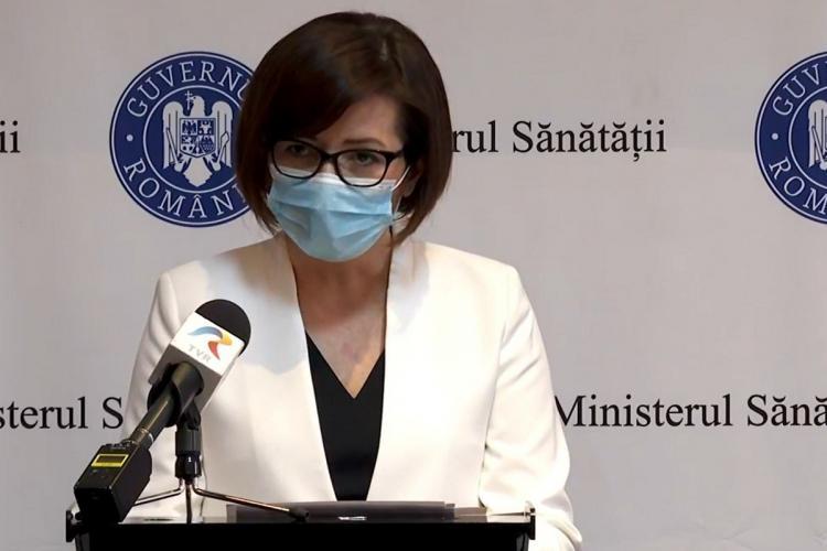 """Elevii ar putea fi vaccinaţi la şcoală. Ioana Mihăilă: """"Acolo unde e posibil, vrem să organizăm cabinete pentru vaccinare"""