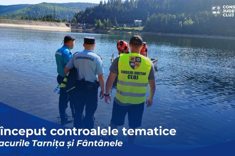 Șmecherii cu bărci, amendați lacurile Tarnița și Beliș
