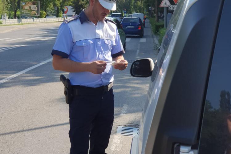 Șofer aproape de comă alcoolică, reținut de poliție. Bărbatul e din Săvădisla