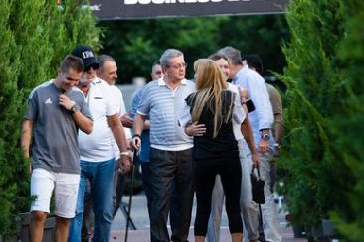 Țiriac, Halep și Ioan Rus, invitați speciali la Winners Open, turneul WTA de la Cluj - FOTO