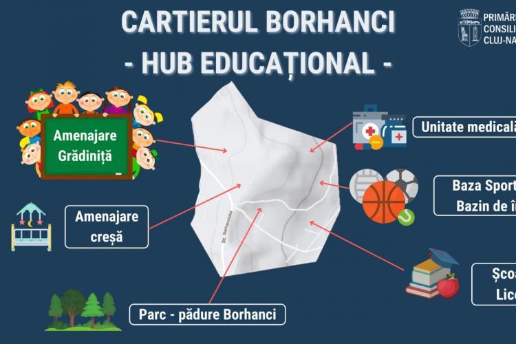 """Ce """"avioane"""" sunt promise în Borhanci. Boc spune că se vor face toate - FOTO"""