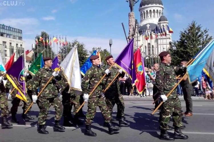 Ceremonie militară, joi dimineața, în Piața  Avram Iancu