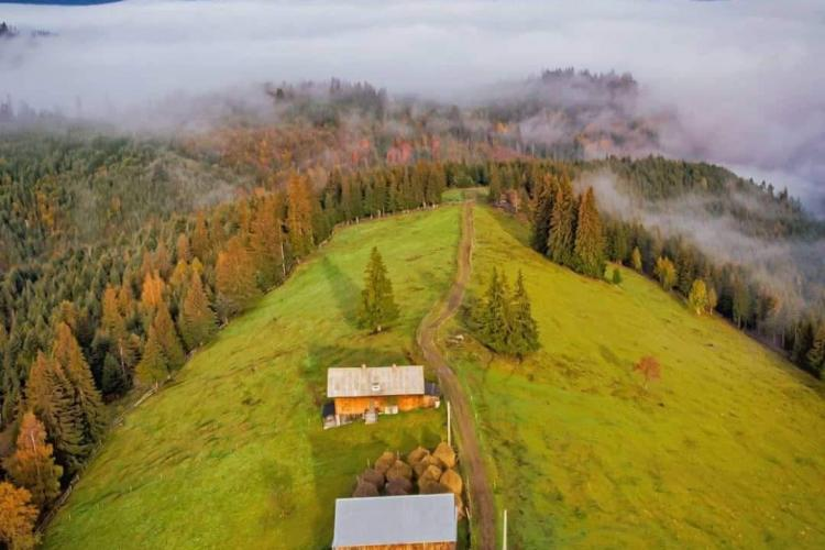 Fotografie mirifică de la Mărișel, probabil cea mai pitorească zonă a Clujului - FOTO