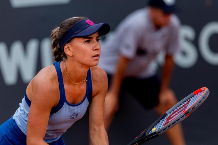 """Irina Bara, eliminată de la turneul WTA de la Cluj: """"E foarte greu să pierzi acasă"""" - VIDEO"""