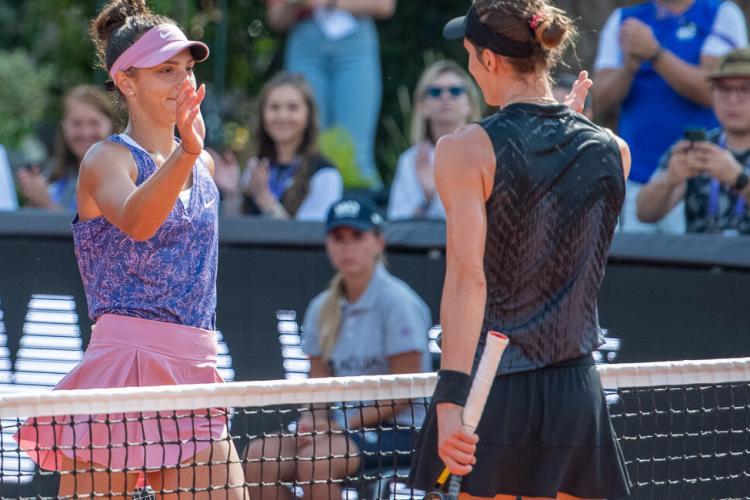 Jaqueline Cristian a fost eliminată de la Winners Open, turneul WTA de la Cluj
