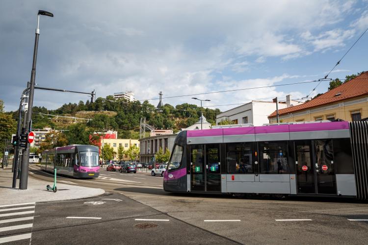 Boc analizează o bandă dedicată pentru tramvai și pe strada Horea: E o analiză de multă, multă vreme