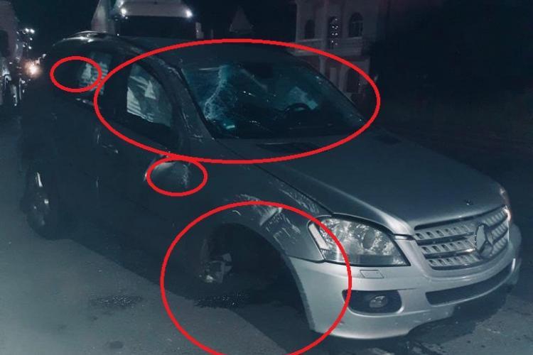Polițistul Gheorghe Matiș din Huedin, anchetat pentru că mașina lui a fost implicată într-un accident ciudat