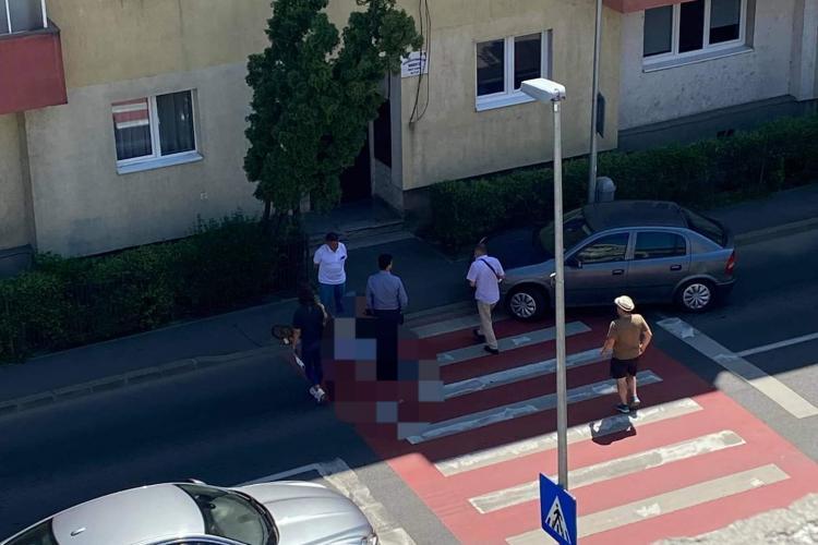 Clujean lovit pe trecerea de pietoni în Grigorescu, pe strada Donath - FOTO