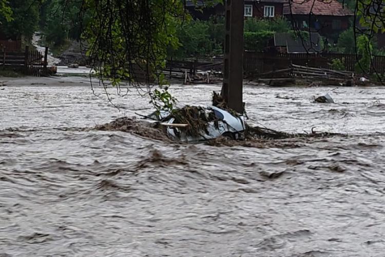 82 de familii și persoane singure vor primi bani pentru a compensa efectele inundațiilor. Școli din Cluj vor fi refăcute în urma inundațiilor