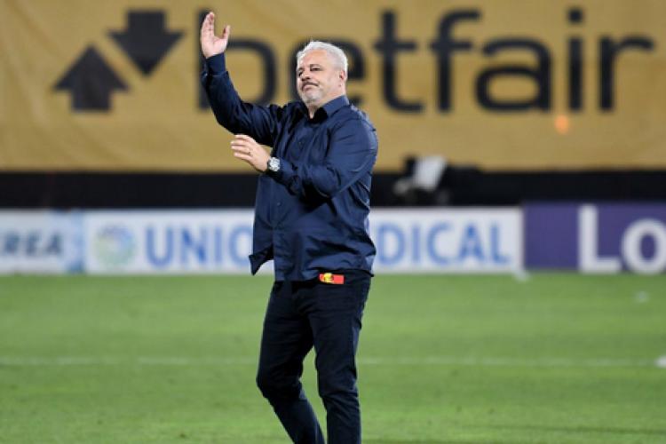 """Marius Șumudică, nervos la conferință, după meciul dintre CFR Cluj și Young Boys: """"Cred că trăsese o ștampă ceva"""""""