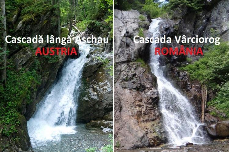 Cascada Vârciorog, din Apuseni, locul ideal de traseu și răcorire! Bijuteria din Apuseni seamănă cu o cascadă celebră din Alpi - FOTO