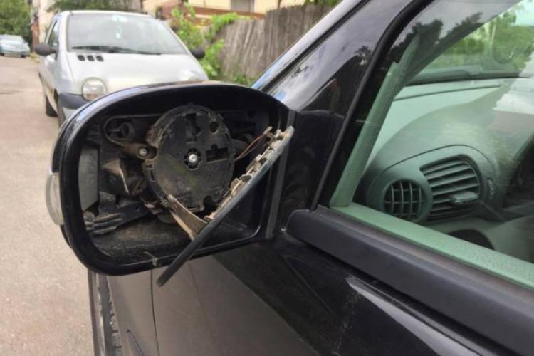 Greșeală sau rea voință? Clujean chemat la Poliția pentru că ar fi lovit altă mașină, deși era imposibil