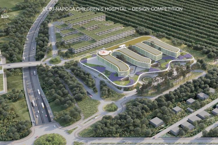 Tișe a semnat contractul de proiectare pentru Spitalul Pediatric Monobloc din Cluj