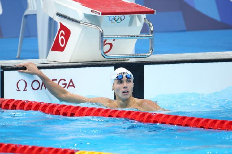 Jocurile Olimpice: David Popovici a luat locul 7 în finala probei de 100 metri liber