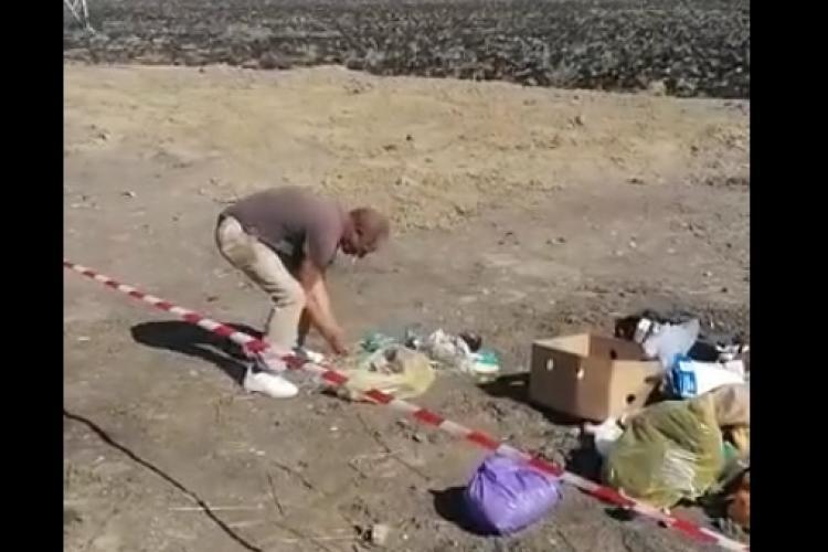 Lecția dată de primarul din Câmpia Turzii unui bărbat certat cu bunul simț - VIDEO