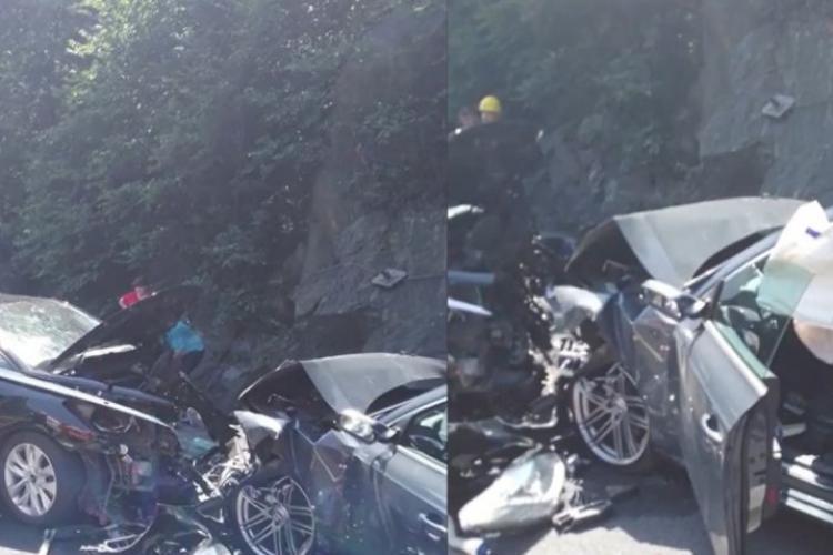 Accident mortal cu trei mașini pe DN1. Traficul este blocat - FOTO