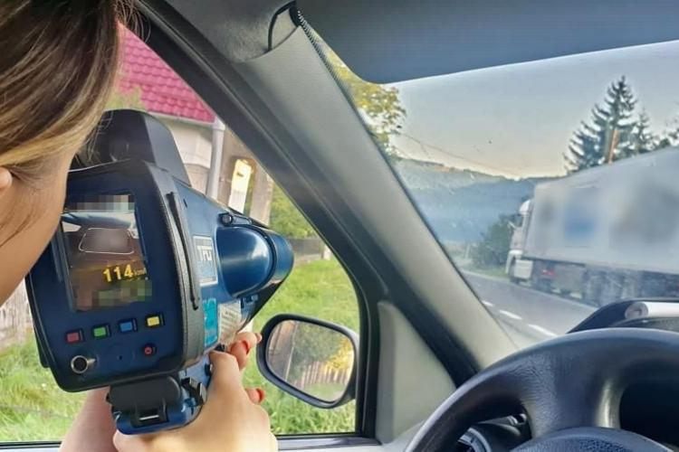 Razia anului în trafic la Cluj! 465 de amenzi date în 2 ore. Totul are legătură cu invazia de la Electric Castle - FOTO