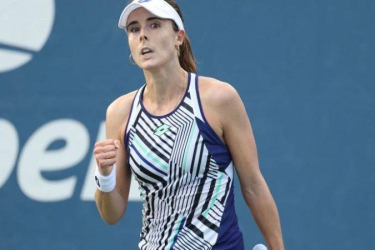Favorita numărul unu de la turneul WTA de la Cluj, amenințată cu moartea după ce a fost eliminată