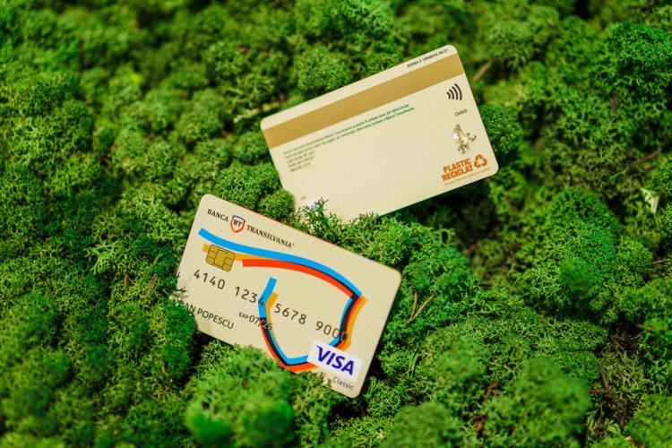 Premieră în România: Banca Transilvania dă startul transformării sustenabile pe piaţa cardurilor