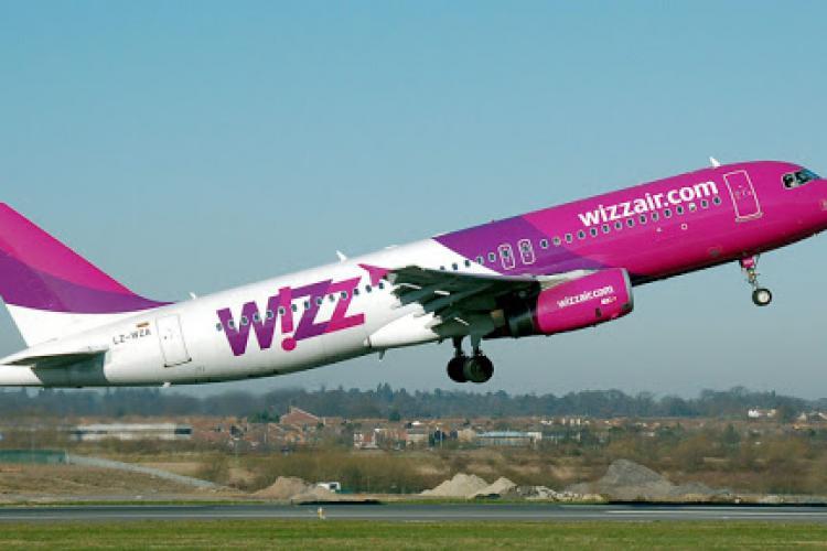 Wizz Air anunţă două rute noi. Din Cluj poți ajunge în Danemarca cu doar 25 de euro