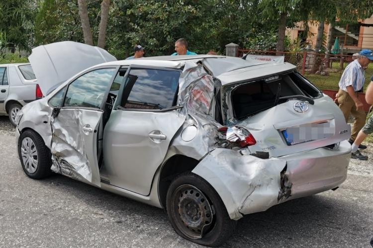 Accident grav la TURENI, pe drumul Cluj-Napoca - Turda