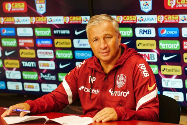 Dan Petrescu, pus pe fapte mari la CFR Cluj. Relația bună cu patronul a fost una decisivă