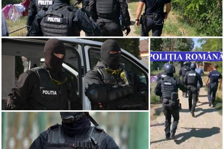 Patru tineri din Câmpia Turzii au fost reținuți de mascați, după ce au tâlhărit două persoane - VIDEO