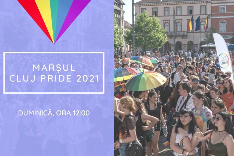 Cluj Pride 2021. Marșul comunității LGBTQ+ din Cluj va avea loc în acest weekend