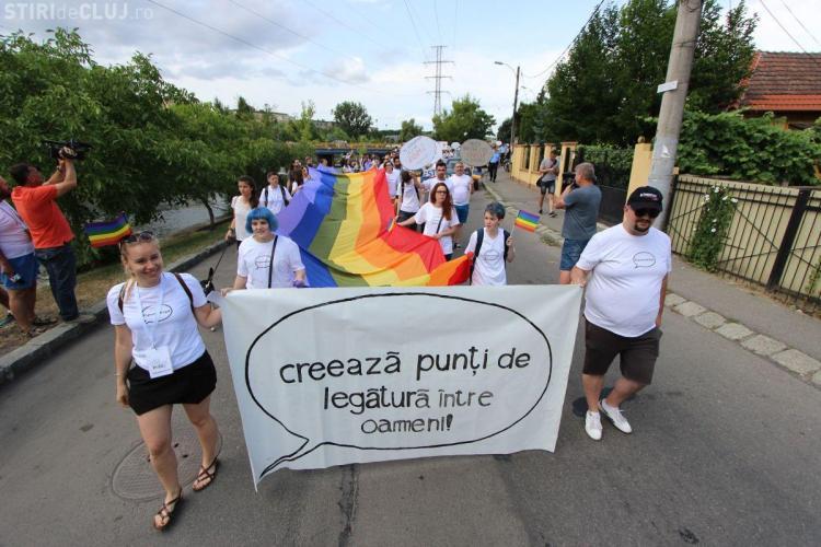 Marșul gay de la Cluj are loc în zona Parcului Central
