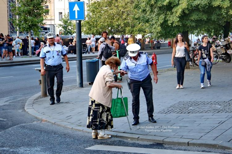 Gest de normalitate la Cluj. Felicitări! - FOTO