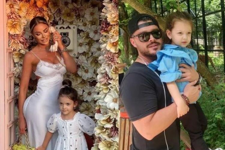 Bianca Drăgușanu îl umilește pe Victor Slav pentru că nu îi cumpără fetiței haine de lux