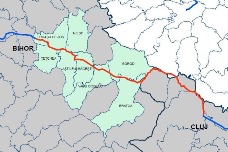 O conductă magistrală de gaz va lega județele Cluj și Bihor. Va alimenta localități care acum nu au gaz